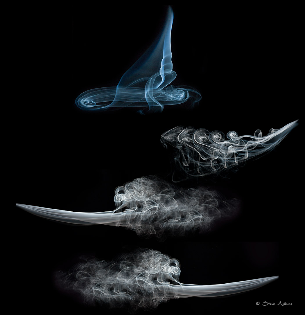 Images of smoke used to make the Smoke Boat Composite