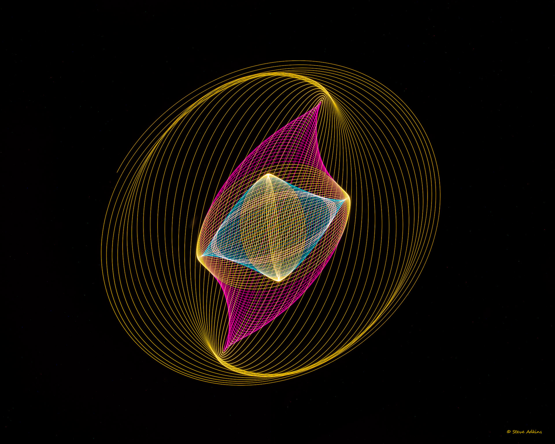 pysiogram,light weaving,light,weave,