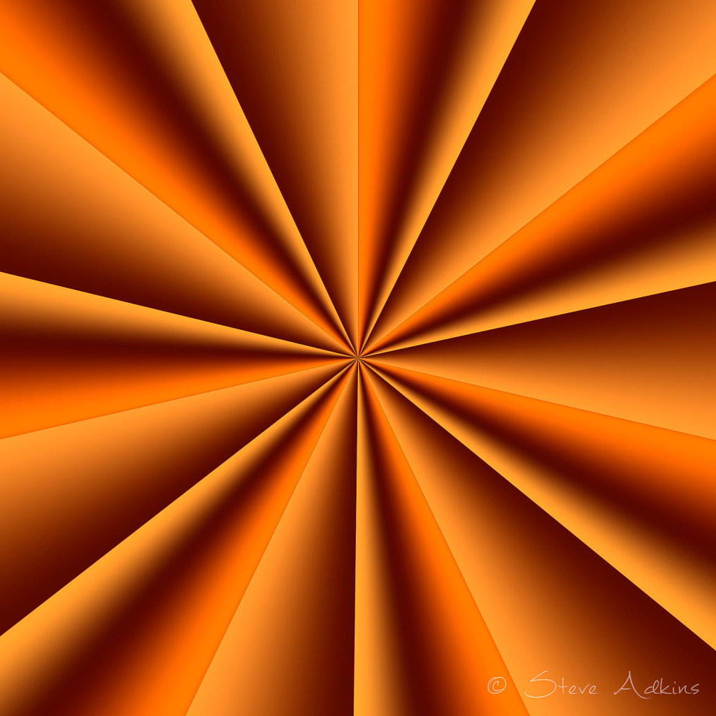 Gradient transformation in Polar Coordinates filter of Photoshop.